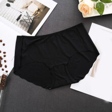 Women Breatheable Cool Women Mid-waist Underwear Knickers Female Underpants Black