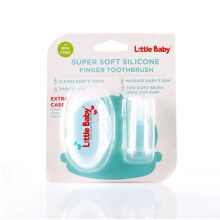 LITTLE BABY Silicon Finger Brush Sikat Gigi Jari Sikat Lidah Silikon