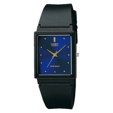 Casio General MQ-38-2ADF Blue Dial Black Resin Strap [MQ-38-2ADF]