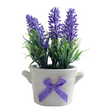 JYSK Artificial Plant 17D377 D8XH17CM - Tanaman Artifisial  Purple