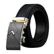 Dandali Original imported Casual wild men's leather automatic buckle belt
