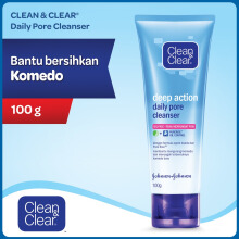CLEAN & CLEAR Deep Action Daily Pore Cleanser 100g