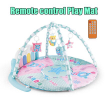 JDWonderfulHouse Baby Gym Play Mat Lay & Play 3 in 1 Fitness Music Piano Pedal Toy Remote Control