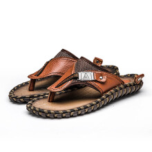 Jantens Brand Men's Casual Shoes Genuine Leather Sandals