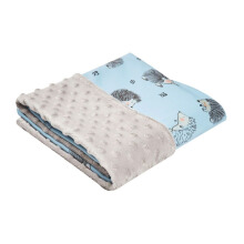 COTTONSEEDS Baby Blanket Hedgehog