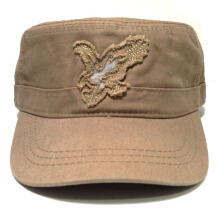 Topi Tactical Type Sabuk - Motif 11 Brown
