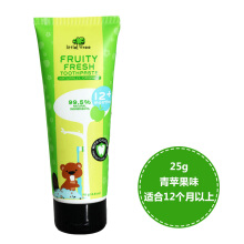 Little Tree Fruity Fresh Toothpaste 12+months - Apple	70 ml
