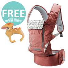 Pognae No. 5 Plus Hipseat and Baby Carrier	Wine