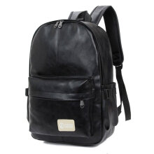 [COZIME] Casual Men Women Korean Style PU Leather Bag Shoulder Backpack School Bag Others1