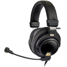 Audio-Technica ATH-PG1 Headset Professional Game Computer Wire Control Headset Headset Black