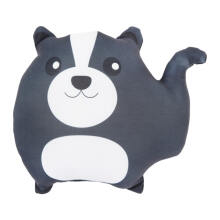 GLERRY HOME DÉCOR Mini Skunk Cushion - 25Cm