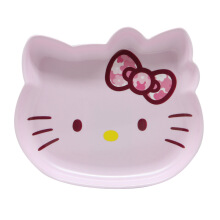 TECHNOPLAST Hello Kitty Fancy Revolution Cake Plate 7'' - Ungu