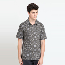 A&D Ms 1259 BAtik Short Sleeve - Brown