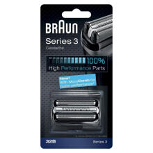 Braun 32B High Performance Series 3 Shaver Replacement Foil and Cutter Cassette