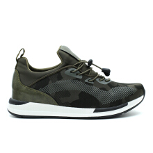 CAVALLERO UDORI Synthetic Leather Men's Casual Shoes Green