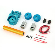 [COZIME] Worker Flywheel Update Kits with Diamond Pattern for Nerf CS-18 Gun Toy Blue