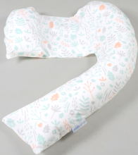 Dreamgenii Support & Feeding Pillow (Grey Coral)