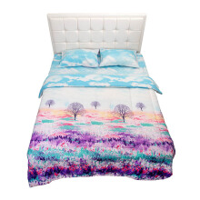 NYENYAK Colorfields Fitted Sheet / Comforter - KING/QUEEN/SINGLE