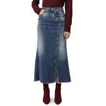MIYOSHI JEANS Denim Long Skirt MY17SK007MA - Blue