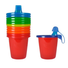 The First Years Take & Toss Sippy Cup 6 Pack - 7oz/200ml - Red
