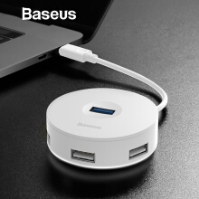 Baseus Multi USB 3.0/ Type C HUB to USB 3.0 + 3 USB 2.0 for Macbook Pro HUB Adapter for Huawei P20 Computer Hard Drive Accessory
