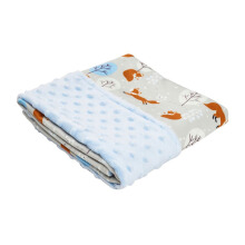 COTTONSEEDS Baby Blanket Winter Fox