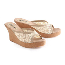 WEDGES KASUAL WANITA - LDO 385