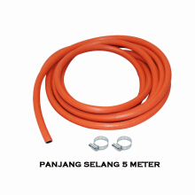 EELIC SEA-LPG10MM SELANG GAS LPG PANJANG 5 METER DIAMETER DALAM 10MM WP 0.5 WPa