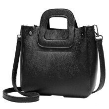 BESSKY Fashion Women's Bucket Type Crossbody Bag Handbag Stundent Messenger Bag_