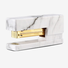 xzante NEVER Marble Printing Manual Stapler Fashion Gold Stapler Office Accessories Trend Stationery