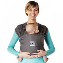 Baby K'Tan Baby Carrier Breeze Charcoal | Gendongan Bayi