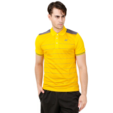 YONEX Men's Polo T-Shirt - Lemon Chrome