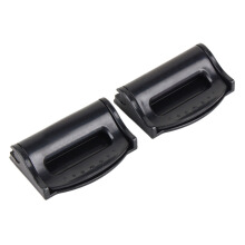 JMS - 1 Pair (2 pcs) Stopper Clip Car Seat Belt - Black Lipin R