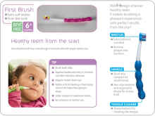 MAM First Brush 6m  | Baby Tooth Brush | Toothbrush | Sikat gigi bayi
