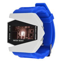 Vaping Dream - Jam Tangan Silikon Layar LED Model Futuristik Elegan
