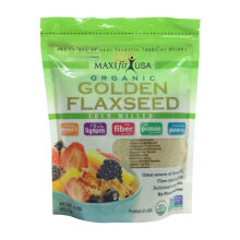 Maxifit USA Organic Golden Flaxseed 453.5g