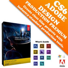 Adobe Production Premium CS6 -Std Edition- Original Lifetime --Personal--