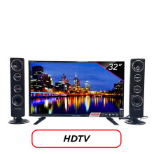 POLYTRON LED TV 32 Inch HD - PLD32T1550 [Speaker Tower]