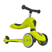 SCOOT AND RIDE Highwaykick 1-5 Lime