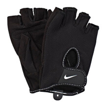 NIKE Acces Nike Wmn'S Fundamental Training Gloves Ii Xs Black - Black/White [XS] N.LG.17.010.XS