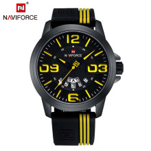 NAVIFORCE Watch Men Sport Quartz Watches  Male Analog Date Clock Fashion Waterpoof Wristwatches