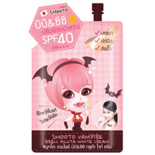 SMOOTO VAMPIRE BB & CC GLUTA WHITE CREAM