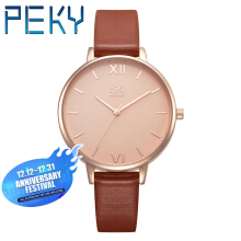 PEKY K0039 Ladies Quartz waterproof Watch Marble Dial
