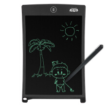 Karen Cat (KALRENCAT) H8S 8.5-inch children's graffiti painting tablet LCD electronic tablet family message memo office notes board black