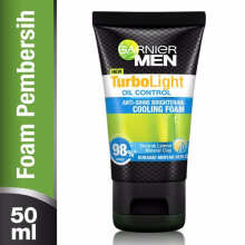 Garnier Men Turbo Light OiL Control Cooling Foam - 50ml