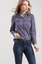 Point One LISANA Stripe Shirt 281881
