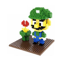 Bricks Weagle 2252 Luigi Green-Yellow