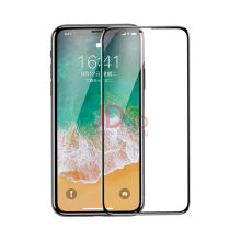 VOUNI iPhone X tempered glass film full screen protective film 3D 9H hard Hitam