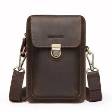 Contacts Tas Selempang Smartphone Cell Phone Small Shoulder Bag MB100 - Coffee