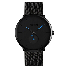 PEKY Brand SKMEI 9185 Men' Quartz Watch Waterproof Stainless Steel Men Male Business Watches